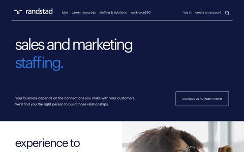 Marketing Recruitment | Randstad USA