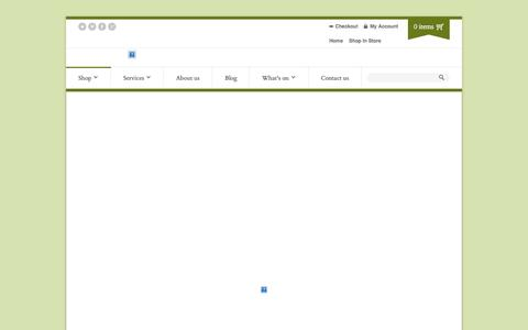 Screenshot of Products Page bodysense.org - Shop In Store   Body Sense - captured Sept. 30, 2014