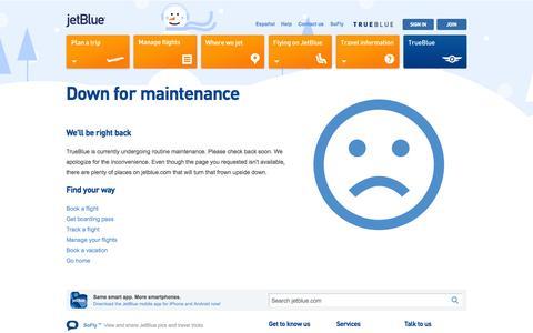 Screenshot of Signup Page jetblue.com - JetBlue - captured Dec. 6, 2015