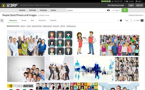 Screenshot of Team Page 123rf.com - People Stock Photos, Pictures, Royalty Free People Images And Stock Photography - captured Dec. 3, 2015