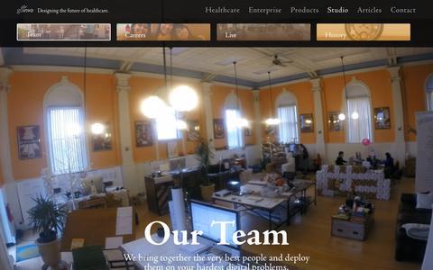 Screenshot of Team Page goinvo.com - Designers and Engineers at Involution Studios - captured Sept. 24, 2015