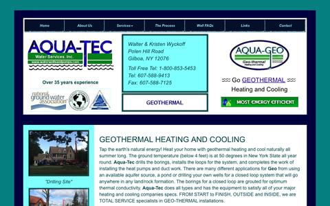 Screenshot of Testimonials Page waterwellsandpumps.com - Geothermal Well Drilling - captured July 2, 2018