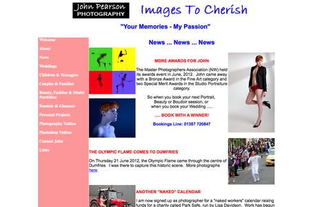 Screenshot of Press Page images2cherish.co.uk - Multi-Award Winning Photographer - Dumfries - captured Oct. 6, 2014