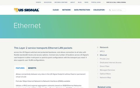 Ethernet | US Signal