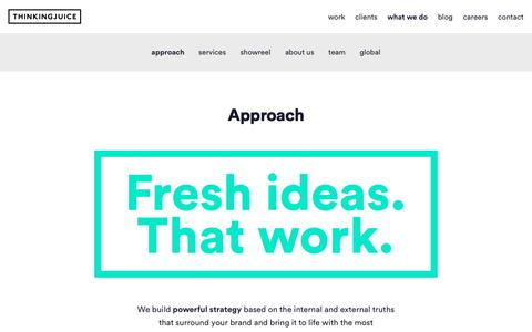 Bringing fresh ideas to life across all marketing channels