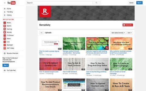 Remarkety  - YouTube