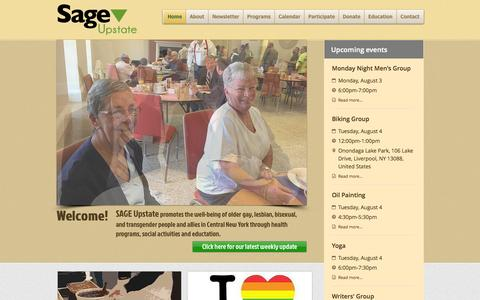 Screenshot of Maps & Directions Page sageupstate.org - sage-upstate - captured Aug. 2, 2015