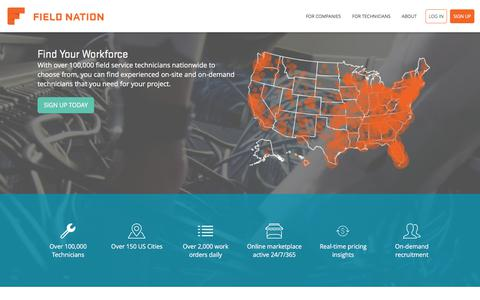 Field Nation Connects Leading Businesses with On-Site, On-Demand Labor