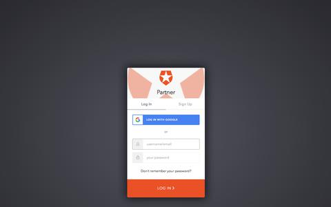 Screenshot of Login Page auth0.com - Sign In with Auth0 - captured Oct. 15, 2019