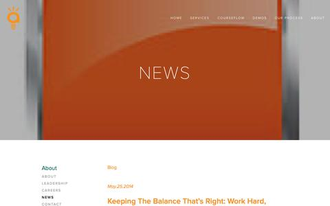 Screenshot of Press Page alvaedu.com - News — AlvaEDU™ - captured Nov. 2, 2014