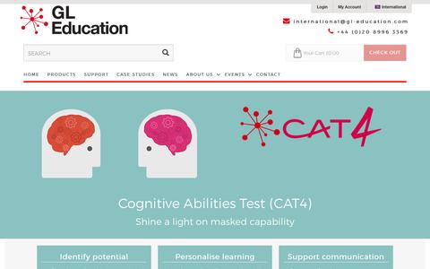 Cognitive Abilities Test: Fourth Edition (CAT4)