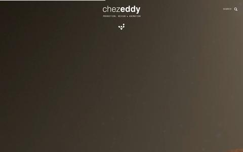 Screenshot of Home Page Press Page chezeddy.com - ChezEddy is a film production & animation studio - captured Sept. 29, 2014