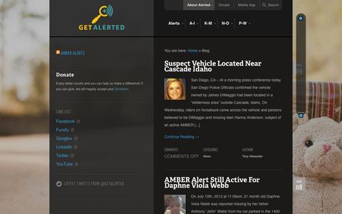 Screenshot of Blog alerted.co - Blog | Alerted.co - captured Oct. 4, 2014