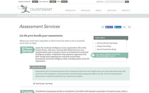 TalentSmart Assessment Services