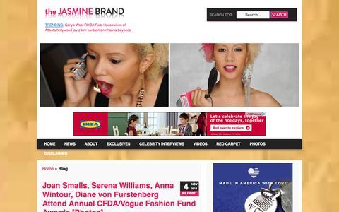 Screenshot of Blog thejasminebrand.com - Blog Archives - theJasmineBRAND :: theJasmineBRAND - captured Nov. 4, 2014