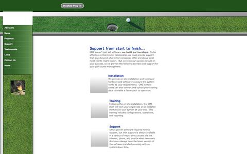 Screenshot of Support Page golfmasterssoftware.com - Golf Masters Software | Golf Management Software | Golf Course Management | Golf Point of Sale | Pro Shop | Golf Course | Inventory | Membership | Tournament Software | Tee Times | Golf Handicaps | Food Service - captured July 10, 2018