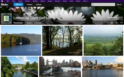 Screenshot of Flickr Page flickr.com - Flickr: Lawrence Campbell Ltd's Photostream - captured Oct. 22, 2014