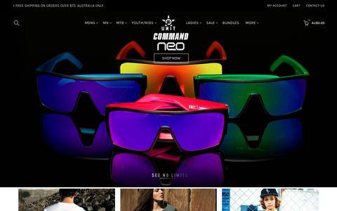 Screenshot of Home Page unit.com - Unit Clothing | Shop UNIT | Clothes – UNIT Clothing - captured Dec. 12, 2018