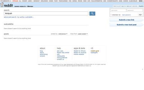reddit.com: search results - Ampush