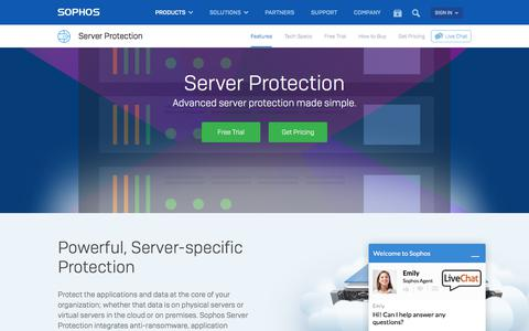 Server Antivirus and Malware Protection for Windows, Linux, and Virtual Environments