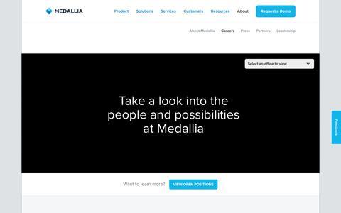 Careers - Medallia