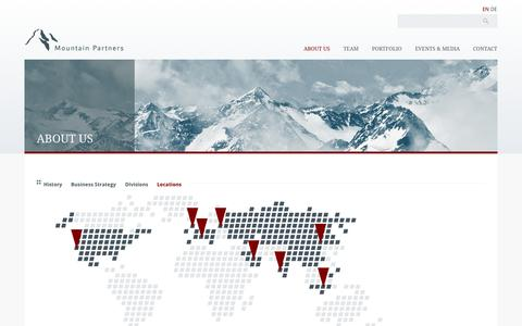 Screenshot of Locations Page mountain-partners.ch - Locations   Mountain Partners - captured Oct. 26, 2014