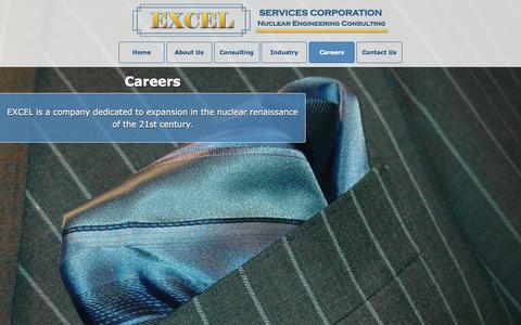 Screenshot of Jobs Page excelservices.com - Careers - EXCEL Services Corporation - captured Jan. 24, 2016