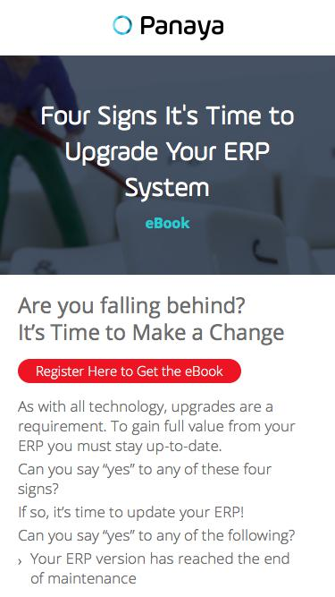 4 Signs It's Time to Upgrade Your ERP System - Panaya