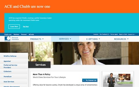 Chubb Personal Insurance