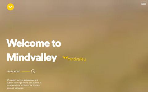 Welcome to Mindvalley