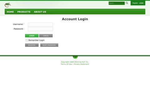Screenshot of Login Page chameleonbeach.com - ChameleonBeach > Login Page Secure - captured Nov. 27, 2016