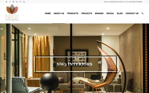 Screenshot of About Page nw3interiorsltd.com - About us NW3 Interiors - creating beautiful homes - captured Aug. 11, 2015