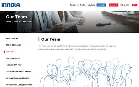 Screenshot of Team Page innova.com.tr - Our Team | İnnova - captured Oct. 16, 2018