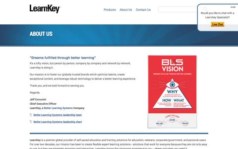 About LearnKey | Self-Paced Education & Training