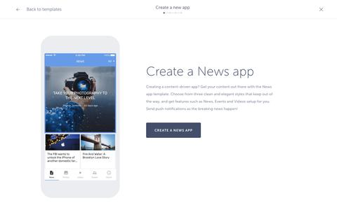Mobile app builder for native iOS and Android apps – Shoutem