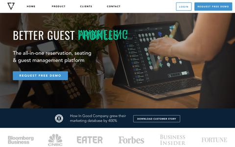 SEVENROOMS: Reservation & Guest Experience Platform