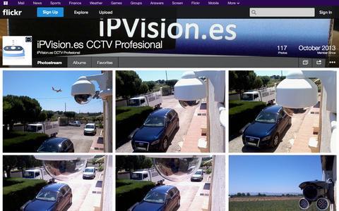 Screenshot of Flickr Page flickr.com - Flickr: iPVision.es CCTV Profesional's Photostream - captured Oct. 23, 2014