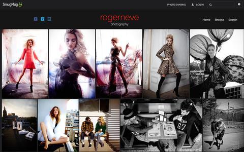 Screenshot of Home Page rogerneve.com - rogerneve - captured Feb. 27, 2016