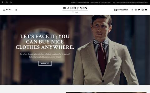 About Us - Blazer For Men