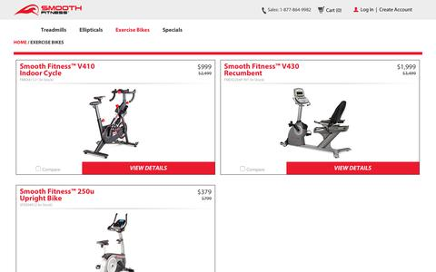 Exercise Bikes | Smooth Fitness