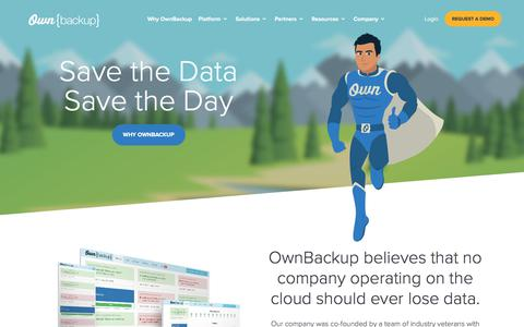 Cloud to Cloud Backup and Recovery Solutions | OwnBackup