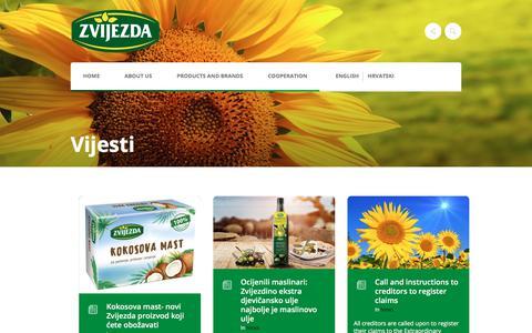 Screenshot of Press Page zvijezda.hr - Vijesti - Zvijezda - captured Nov. 26, 2017
