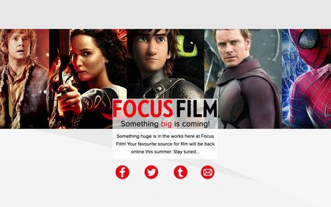 Screenshot of Press Page focusfilm.co.uk - Focus Film | Movie News, Information, Reviews and Interviews - captured Aug. 3, 2015