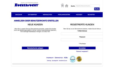 Screenshot of Login Page ltoc.de - Kundenlogin - captured June 25, 2016