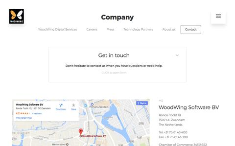 Contact us | WoodWing Software
