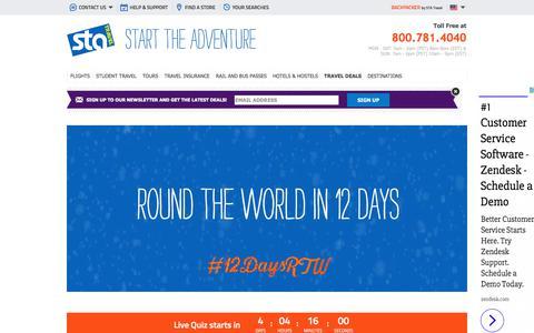 #12daysRTW | STA Travel | STA Travel