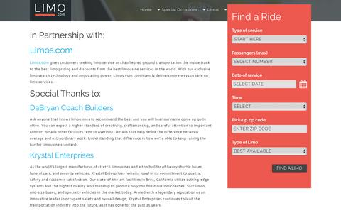 Limo.com Partnerships | Limo.com