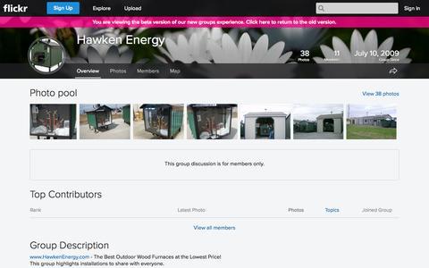 Screenshot of Flickr Page flickr.com - Flickr: The Hawken Energy Pool - captured Oct. 22, 2014