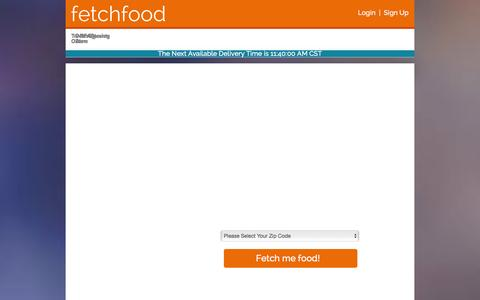 Screenshot of Privacy Page FAQ Page fetchfood.net - Fetch Food | Local Food Delivery in Salt Lake City, Utah - captured Jan. 8, 2016
