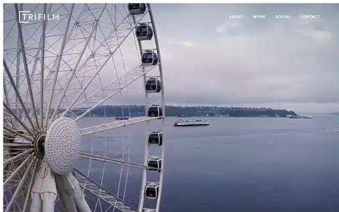 Screenshot of Home Page trifilm.com - Trifilm - captured Feb. 14, 2016
